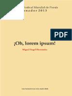 ¡Oh, Lorem Ipsum!