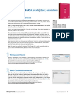 Indesign CS5 Presets