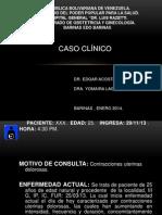 Caso Clinico Embolia Del Liquido Amniotico. - Copia