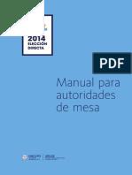 Manual Electoral UNCUYO