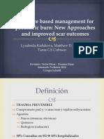 Evidence Based Management for Paediatric Burn Final