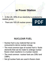Power Generating Stations