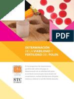 Determinación de la viabilidad y fertilidad del polen