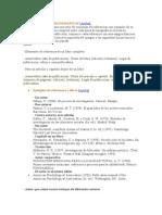 Formas de Citar Referencias Bibliograficas