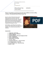The Essential SA House Trip Press Release