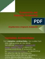 Variables Ambientales y Urbanas