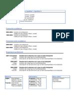 Plantilla Curriculum Para Rellenar Doc