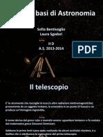 Il Telescopio - Sgadari, Bentivoglio