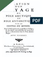Amaulry Gabriel - Relation d Un Voyage Du Pole Arctique Au Pole Antarctique Par Le Centre Du Monde
