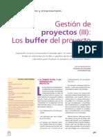 TCE Gestión de Proyectos Los Buffer Del Proyecto (III)
