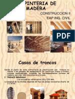 Clase 7 Carpinteria de Madera - Construccion II