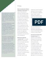 Compass-U FAQ Brochure