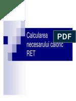 Ratia Calorica