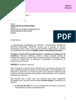 Carta Al Decano Facultad QF Universidad Antioquia