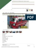 Suzuki Carry Adiputro Th...Urakarta - Berniaga