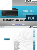 203MDZ_Inbio460 Installation Guide ZKACCESS