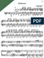 Scherzo in A Sharp Minor
