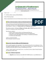 Communication -Advisory for June 14 -2014