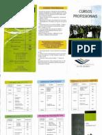 Cursos Profissionais 2014-2015