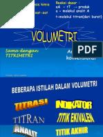 (3) Kimia Analisis Volumetri