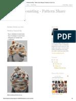Shutupimcounting - Pattern Share Bloggery_ Newsboy Carnival Cap