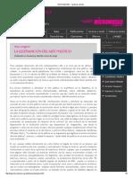 LONGONI Legitimacion Del Arte Politico - Brunaria 9 - 2005