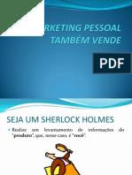 Marketing Pessoal Também Vende