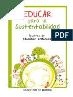 MORON Material Educativo - Cuadernillo Educación Ambiental