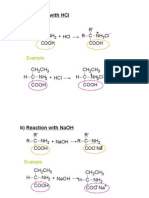 Matriculation Chemistry Amino Acids Part 2