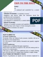 Economies of Scale in Mixed Economy