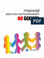 Manual Para Comunicacion No Sexista