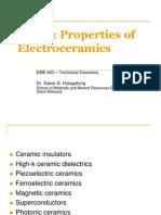 Type of Electroceramics pdf notes