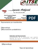 Razonamiento con incertidumbre. Expo Inteligencia Artificial.pptx