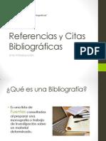 BIBLIOTECAReferencias y Citas Bibliografícas