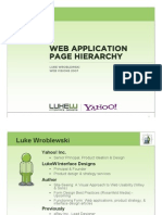 PageHeirarchy -  LukeW