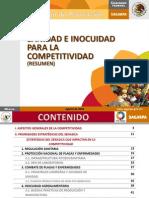 Sanidad e inocuidad para la competitividad