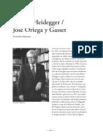 Heidegger y Ortega (Salmeron)