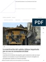 La Reactivación Del Carbón Chileno Impulsada Por Su Uso en Termoelectricidad » Minería Chilena
