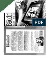 Jean Baudrillard Para Principiantes - Horrocks-Zoran