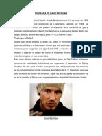 Biografia de David Beckham