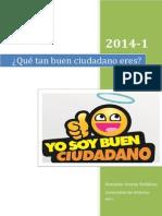 Que Tan Buen Ciudadano Eres (Jhonatan Arenas Peñalza)