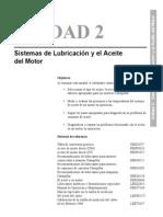 Unidad 2 Sistemas de Lubricación y El Aceite Del Motor