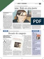 Entrevista a Carolina Sanín en 2005