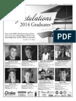 Congratulations 2014 Graduates