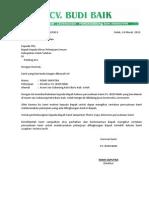 Surat Perkenalan Perusahaan