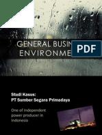 General Business Environment - PT Sumber Segara primadaya
