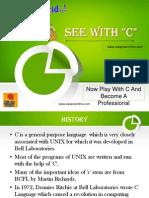 C- Language Introduction