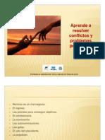 Presentacion Aprende a Resolver Conflictos y a Solucionar Problemas