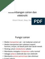Keseimbangan Cairan Dan Elektrolit New