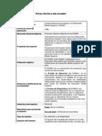 Ficha Tecnica Detallada EXANI-I 2010